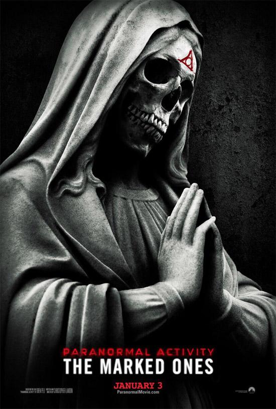 El primer cartel de Paranormal Activity: The Marked Ones