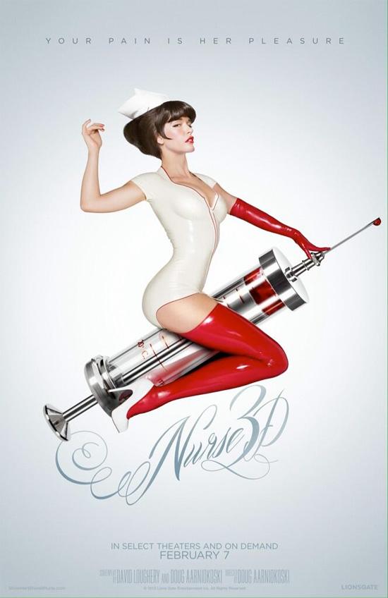 El nuevo cartel para ponerse en modo palote ON de Nurse 3D