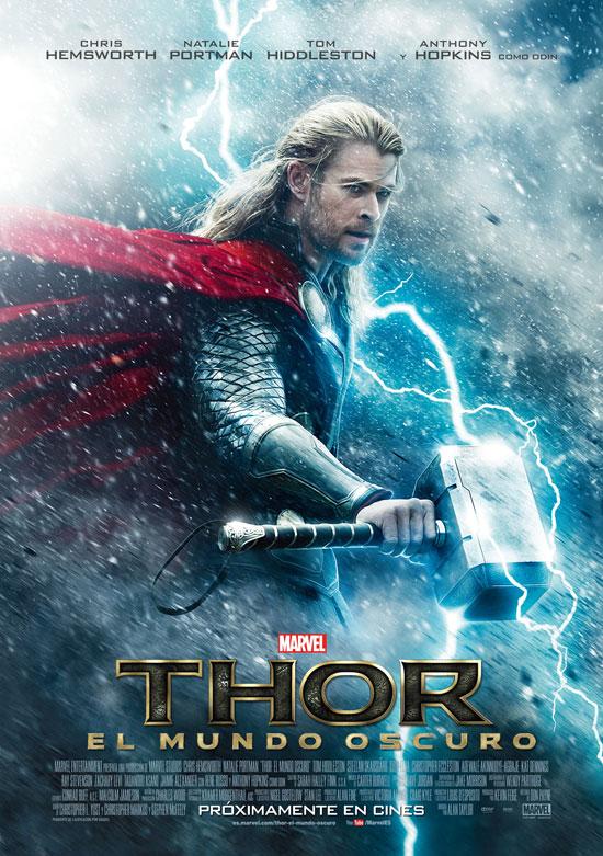 Uno de los carteles españoles de Thor: el mundo oscuro