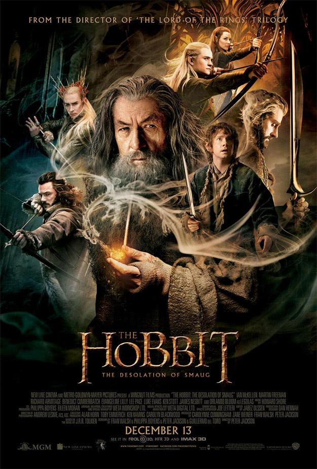 El cartel final de El Hobbit: La Desolación de Smaug