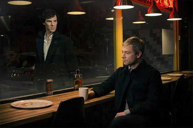 Primera imagen oficial de la tercera temporada de Sherlock