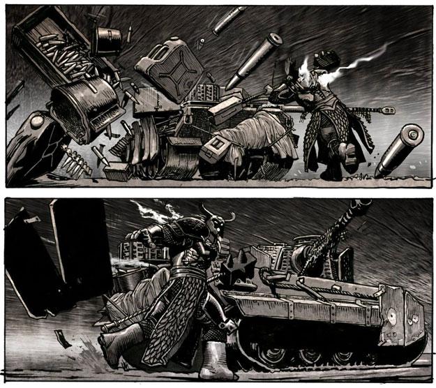 Concept art de Panzer 88
