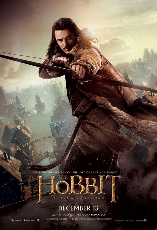 Un cartel de El Hobbit: La Desolación de Smaug, Bardo