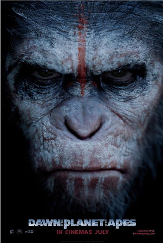 El nuevo póster de Dawn of the Planet of the Apes