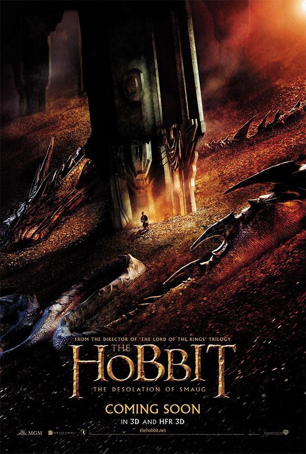 Fabuloso cartel de El Hobbit: La Desolación de Smaug