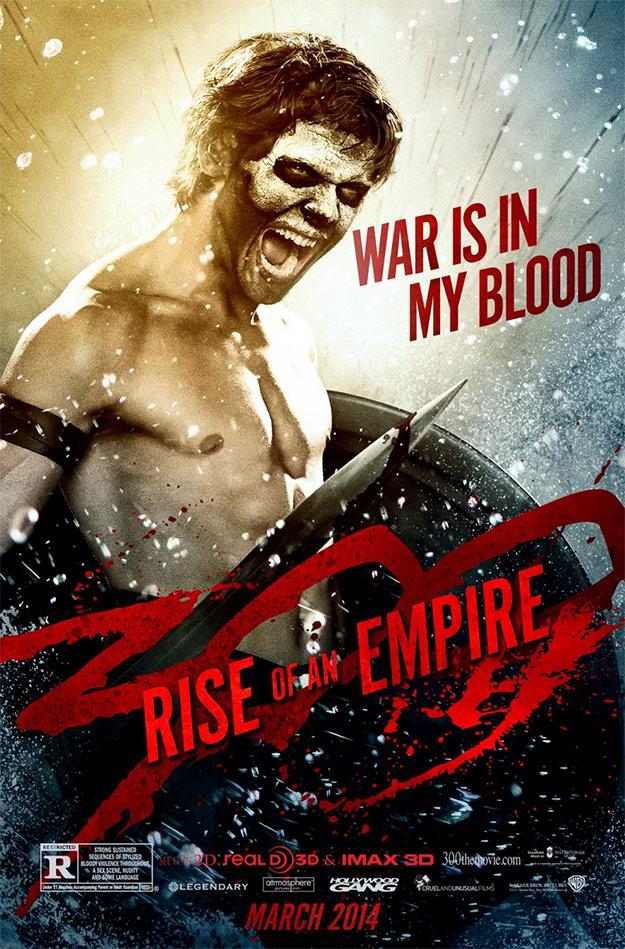 Sigue el listado de carteles de 300: el origen de un imperio