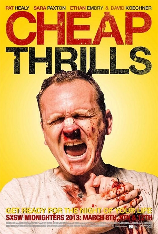Otro cartel de Cheap Thrills