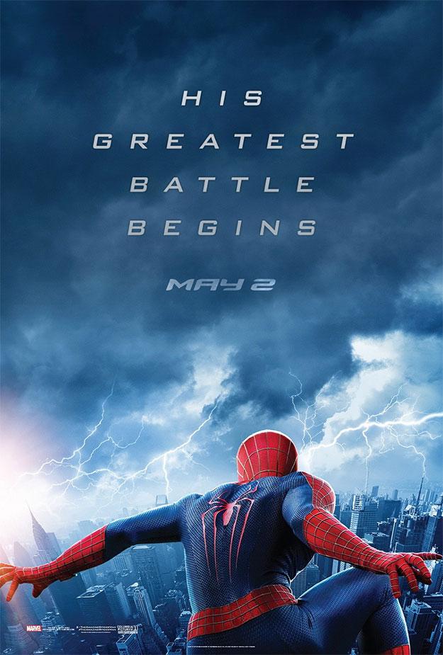 Noche de tormenta en la casa de The Amazing Spider-Man 2