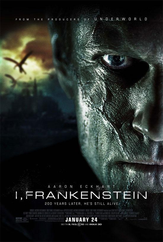 Este cartel final de I, Frankenstein