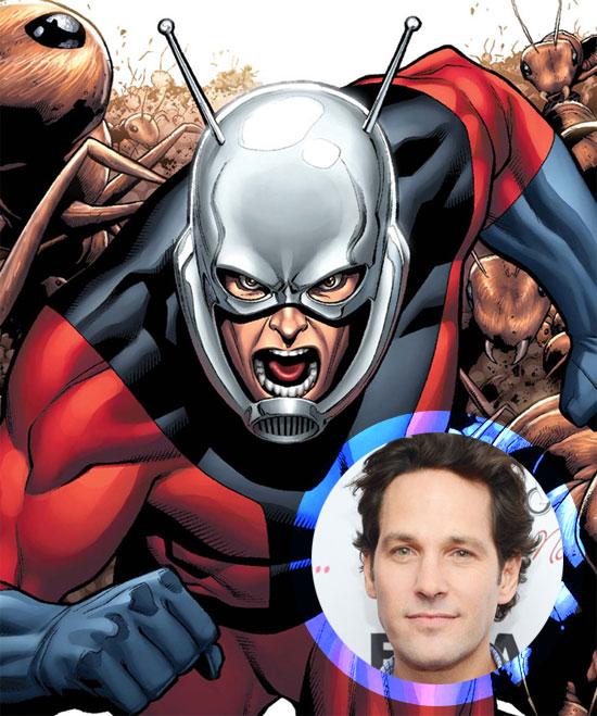 Paul Rudd, salvo sorpresa, será Ant-Man