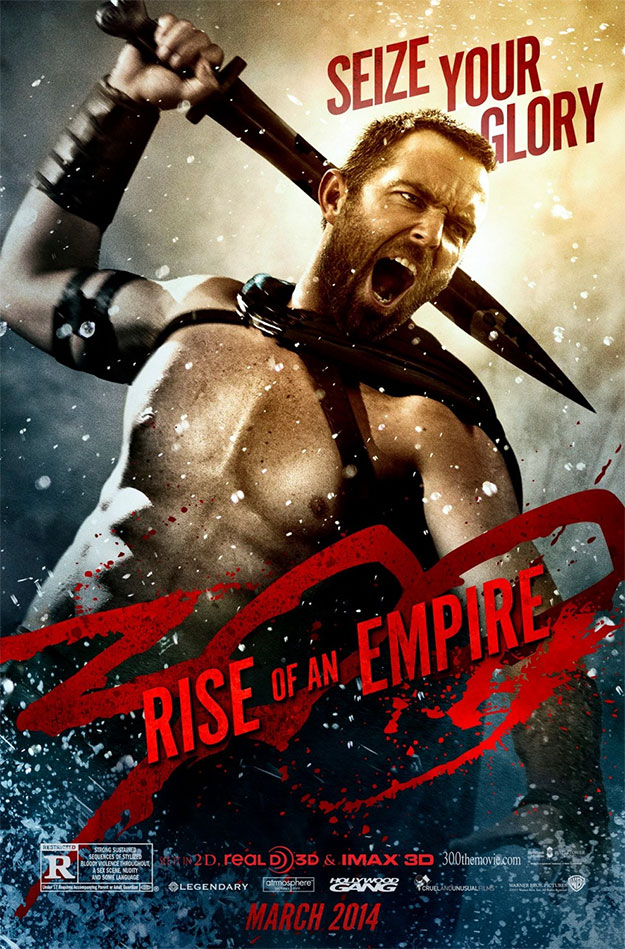 Otro cartel más de 300: el origen de un imperio