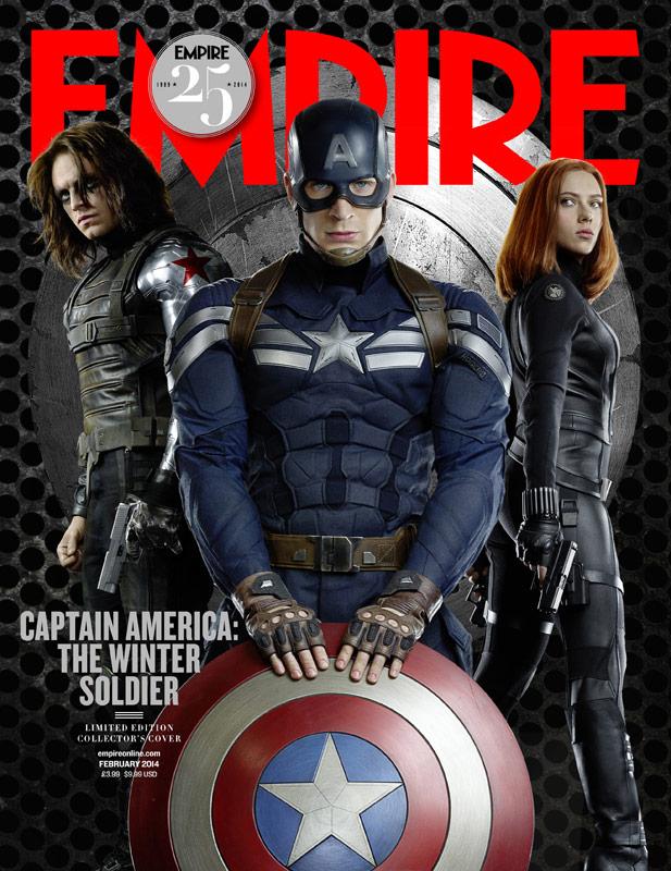 Capitán América: el Soldado de Invierno... la portada