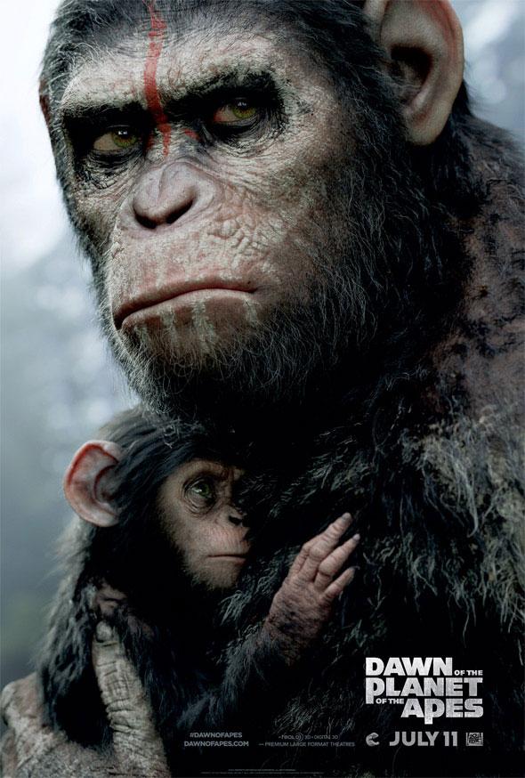 Protección es lo que define el nuevo cartel de El amanecer del planeta de los simios