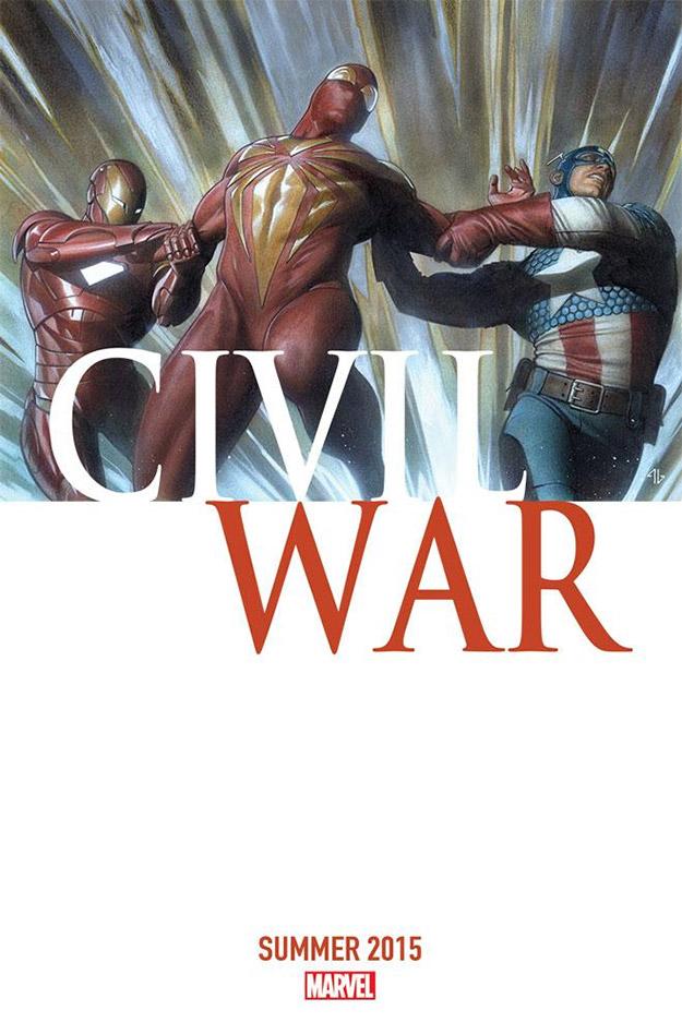 Portada del reboot comiquero que prepara Marvel para Civil War... ¿calentando motores para el cine?