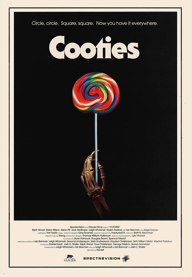 Uno de los carteles de Cooties... el mejor