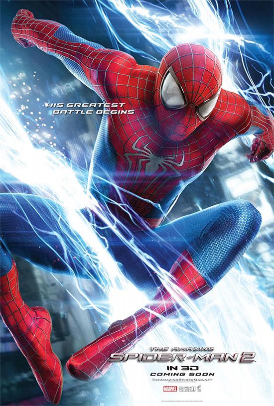 Uno de los carteles de The Amazing Spider-Man 2: el poder de Electro