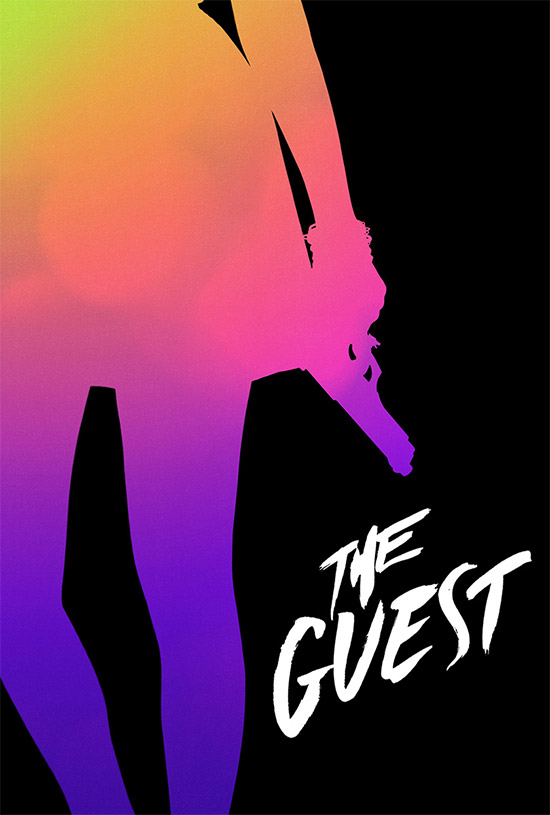 Otro cartel molón para The Guest vía Inside Movies