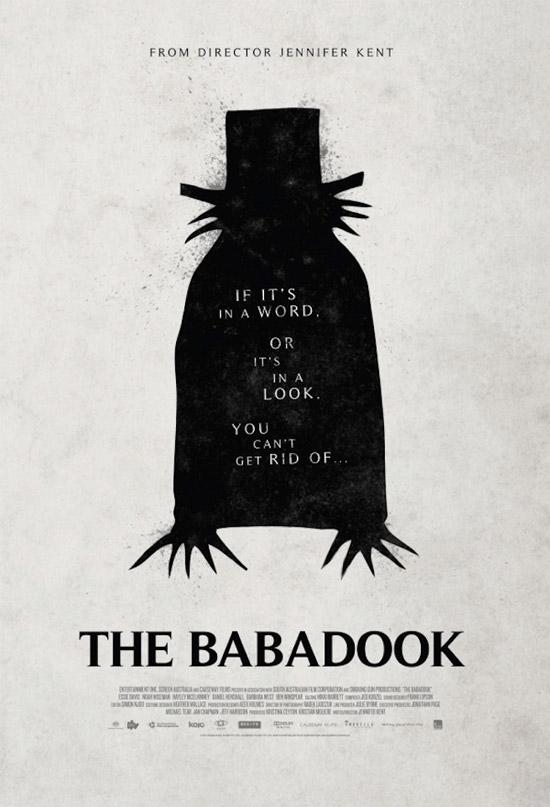Simple e interesante este cartel de The Babadook