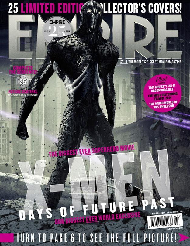 Una de las portadas, la primera, dedicadas a X-Men: Días del Futuro Pasado