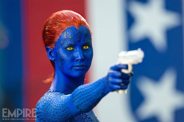 Jennifer Lawrence como Mística