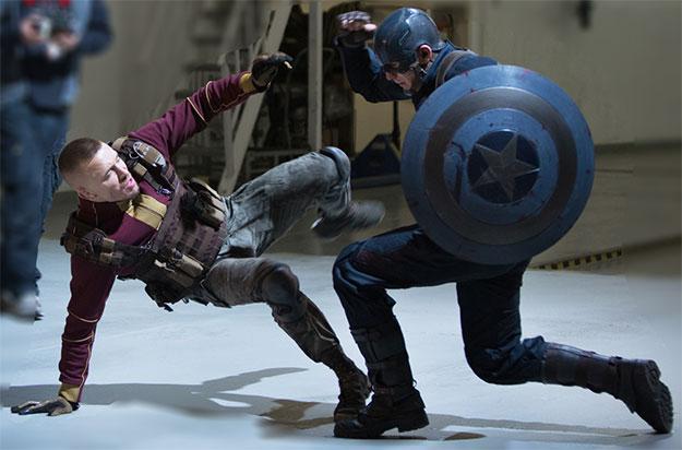 Nuevas imágenes de Capitán América: el Soldado de Invierno y primer vistazo a Georges St-Pierre como Batroc