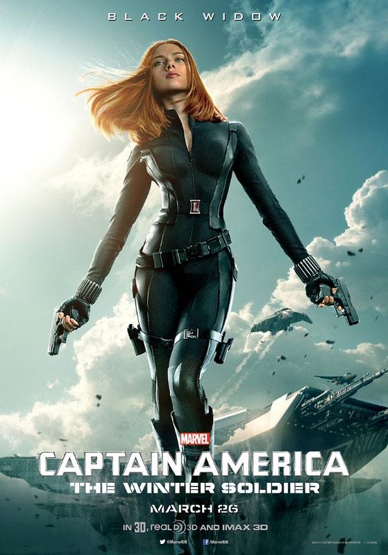 Un nuevo cartel de Capitán América: el Soldado del Invierno