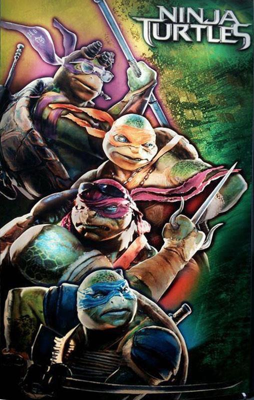 """Y un nuevo vistazo al aspecto de las nuevas """"Teenage Mutant Ninja Turtles"""""""