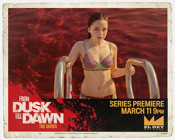 "Lobby cards de ""From Dusk Till Dawn: The Series"""