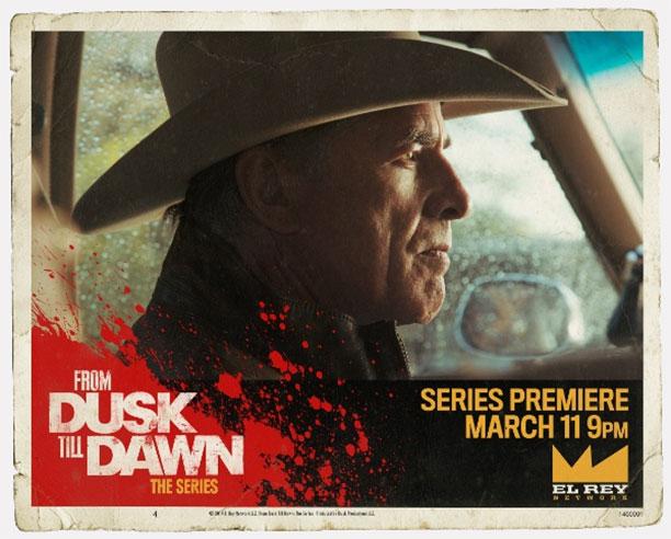 """Lobby cards de """"From Dusk Till Dawn: The Series"""""""