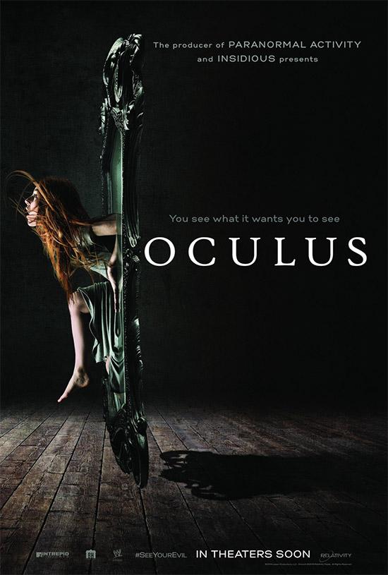 Un nuevo cartel de Oculus... ves lo que quiere que veas