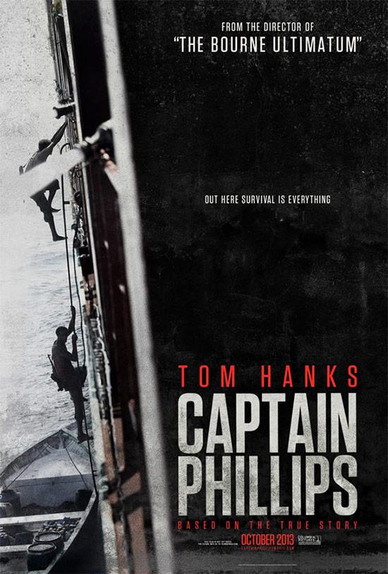Uno de los carteles de Capitán Phillips