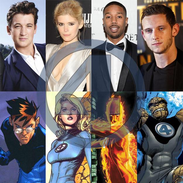 Saludad a los nuevos 4 Fantásticos