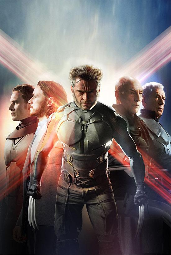 Foto lista para ser un posible póster de X-Men: Días del Futuro Pasado
