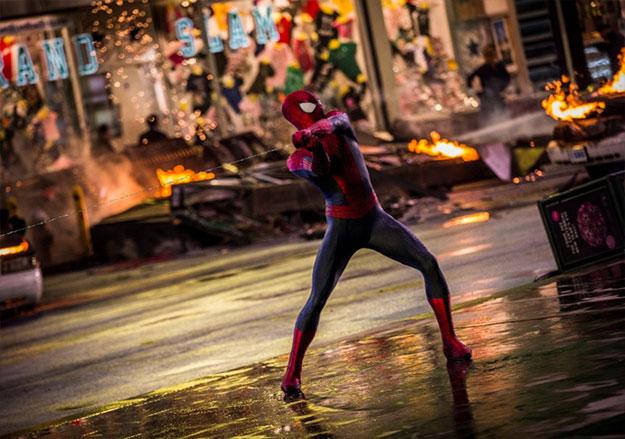 Una par de nuevas imágenes del futuro de Spider-Man