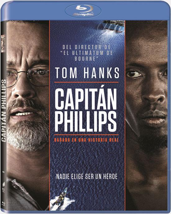 Portada del Blu-Ray de Capitán Phillips