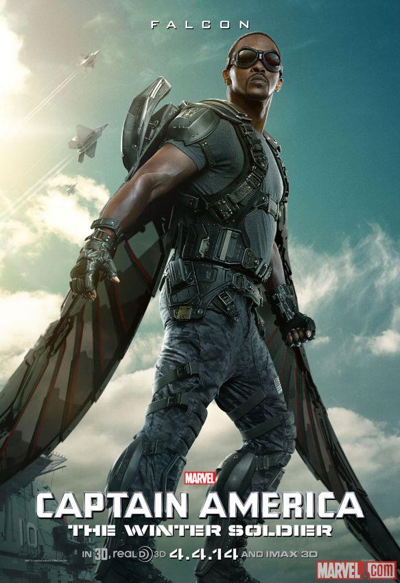 Un nuevo cartel de Capitán América: el Soldado de Invierno nos presenta al Halcón