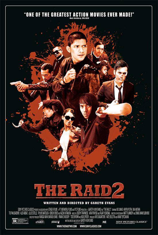 Uno de los carteles de The Raid 2: Berandal