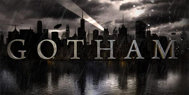 """El logo oficial de la nueva serie """"Gotham"""" basada en el universo DC/Batman"""