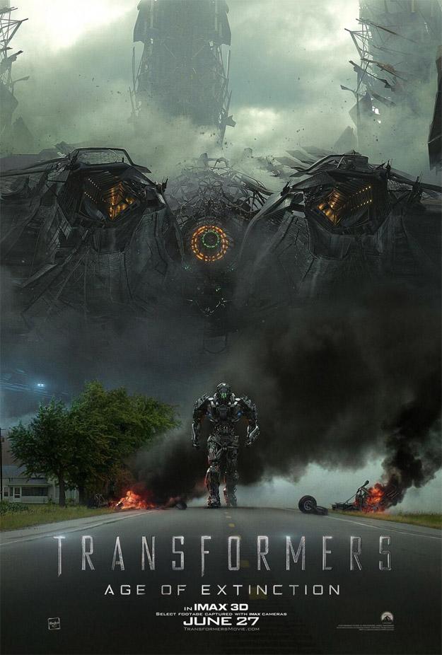 El nuevo cartel IMAX de Transformers: la era de la extinción