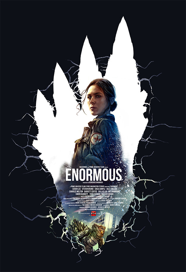 """Genial cartel pintado de """"Enormous"""", la serie de Machinima"""