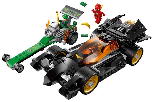 El primer vistazo al Flash de LEGO con Batman y Enigma!