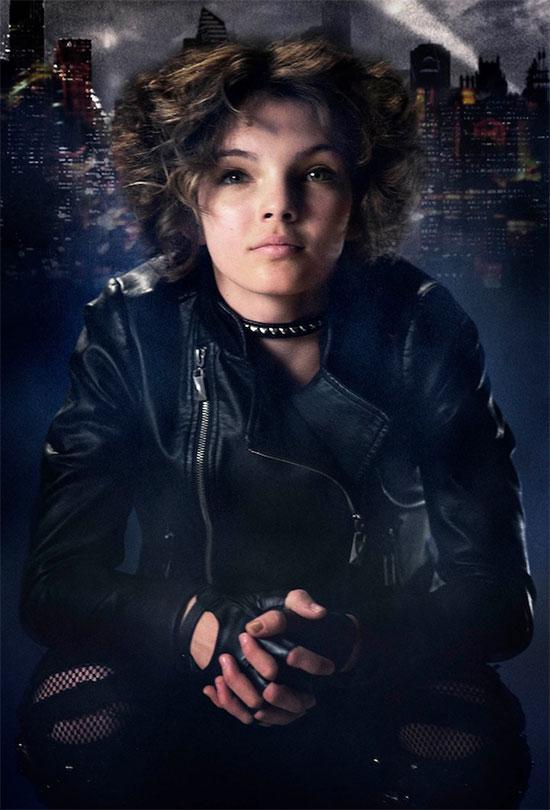 El primer vistazo a Camren Bicondova como Selina Kyle