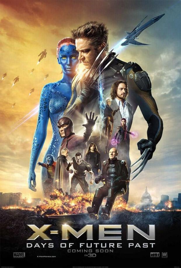 Uno de los muchos carteles de X-Men: Días del Futuro Pasado