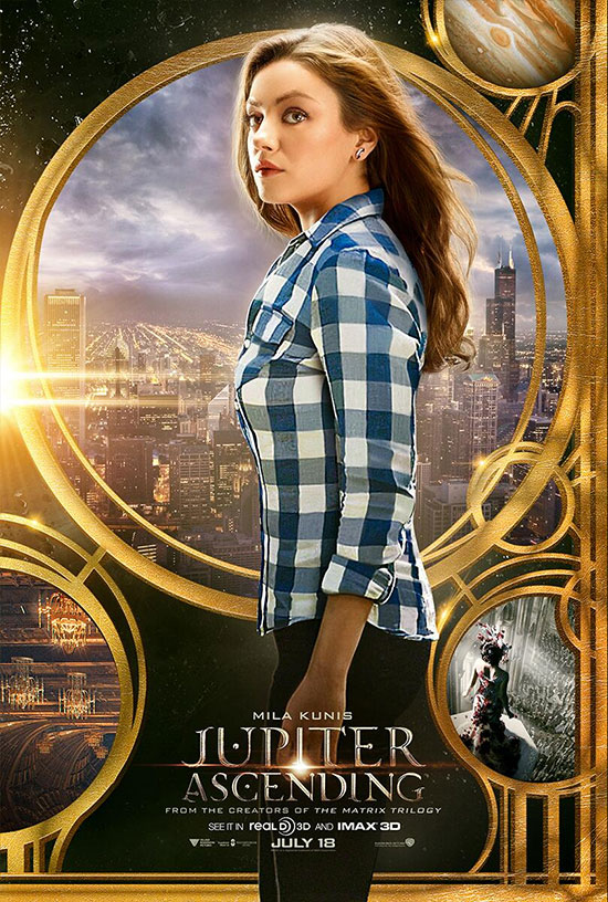 El segundo cartel de Jupiter Ascending vía Warner Bros.