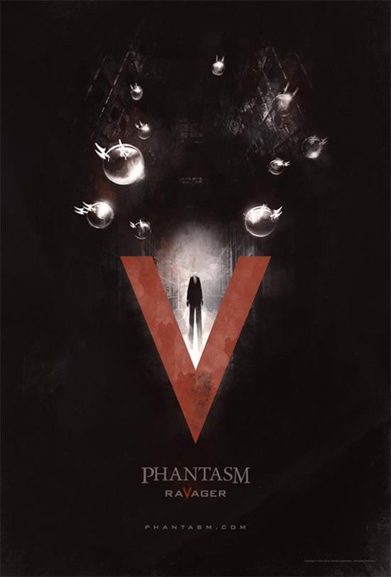 El cartel de Phantasm: Ravager