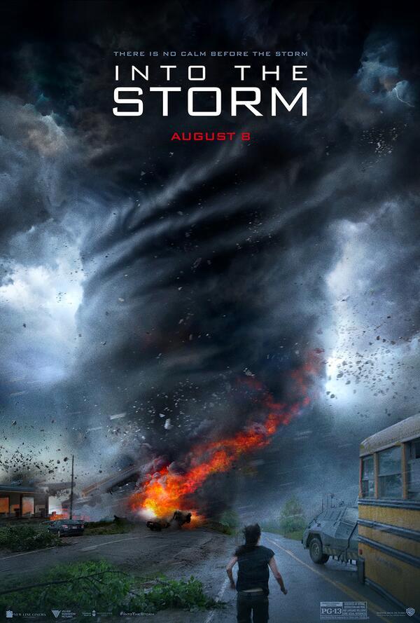 Me mola este cartel de Into the Storm