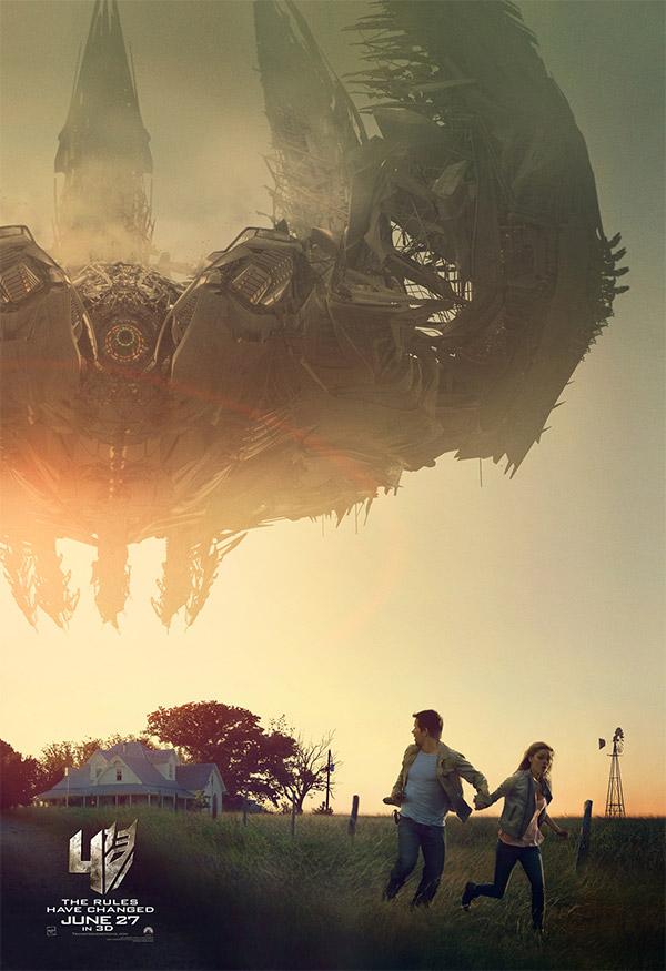 Un nuevo cartel de Transformers: la era de la extinción... normalito