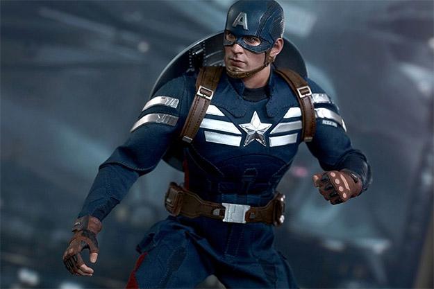 Marvel Captain America - Stealth S.T.R.I.K.E. Suit Marvel Sixth Scale Figure