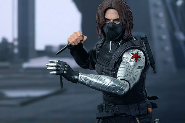 Marvel Winter Soldier Marvel Sixth Scale Figure