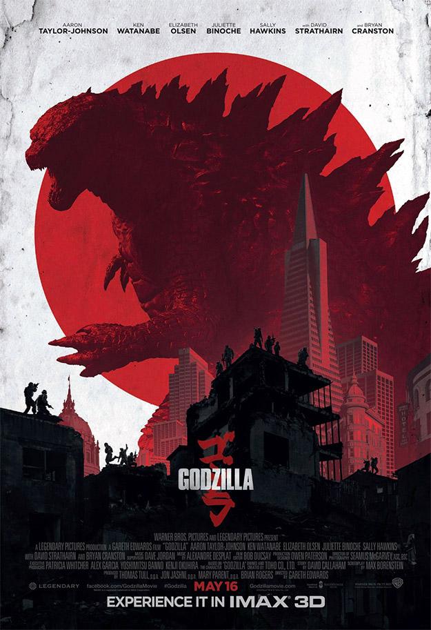 El nuevo cartel IMAX de Godzilla